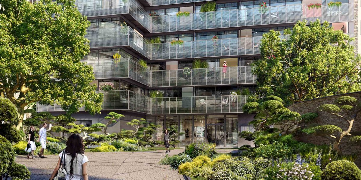 Rare duplex 5 pièces traversant de 156m2 avec 62 m2 de terrasse – Raspail